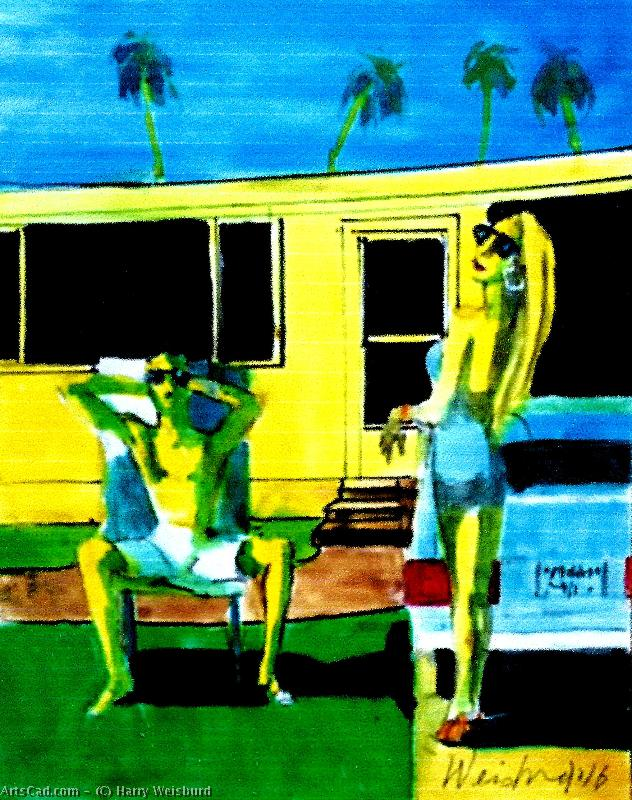 Obra De Arte >> Harry Weisburd >> california dreamin en un Inviernos Día