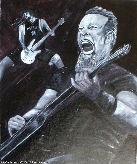 Obra De Arte >> Dominique Ansquer >> metallica