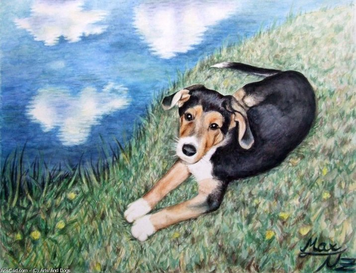 Obra De Arte >> Arts And Dogs >> Sheperd Perro Perrito