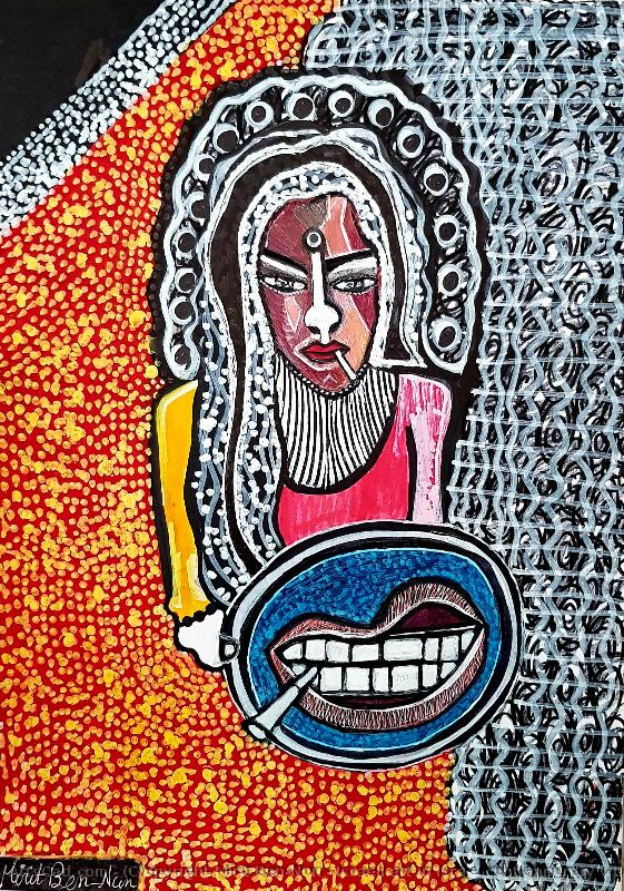 Obra De Arte >> Mirit Ben-Nun >> Israeli art in Israel contemporary woman artist Mirit Ben-Nun