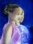 Inspirational Paintings - africano caras