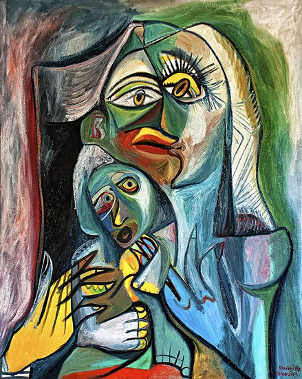 Obra De Arte >> Raul Cañestro >>  MOTHER AND SON