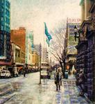 Fred Himmelsbach - Swanston Calle , Melbourne