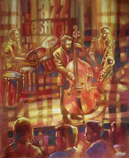 Obra De Arte >> Truchi Denis >> Jazz Of fiesta