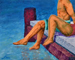 Luxo Fine Art - Pintura figurativa -A Moment to Remember-