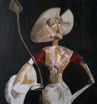 Evath - Acrylique - Busto de Don Quijote