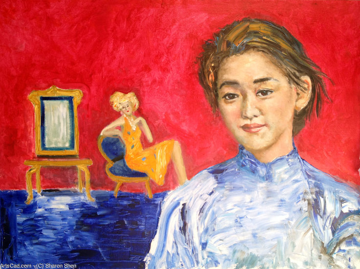 Obra De Arte >> Sharon Shen >> chinese girl-2
