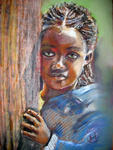 Inspirational Paintings - MALAWI chica
