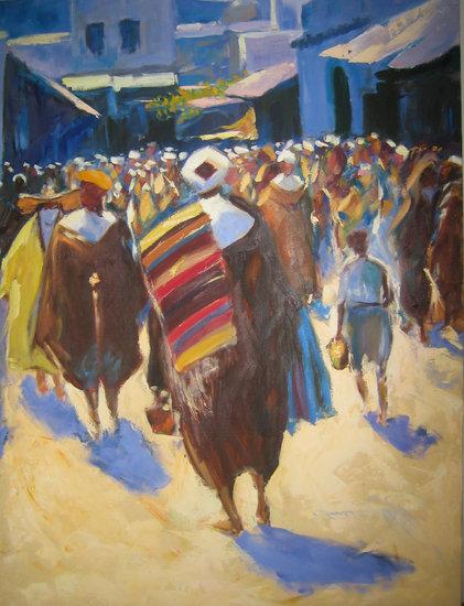 imagen obra pintor mariano bertuchi: