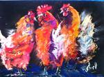 Inspirational Paintings - Partido de gallina