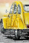 Nicky Chiarello - CITROEN 2 CV AMARILLO